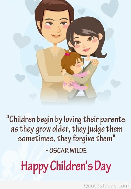 On This Special Day Wish You Happy Childrens Day Message Image