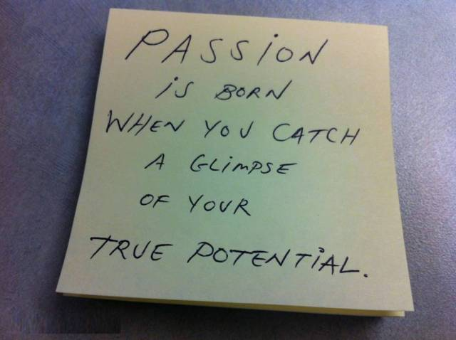 Passion Quotes Passion Is Good When You Catch A Glimpse Of Your True Potential