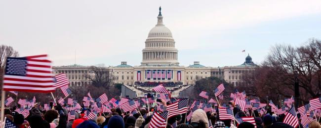People Celebrating Inauguration Day