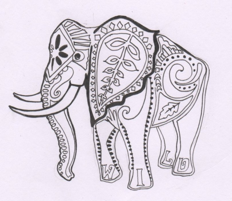 Perfect Elephant Tattoo For Girls