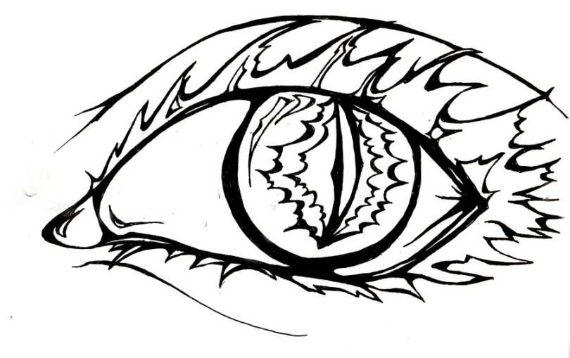 Popular Eye Tattoo Style For Girls