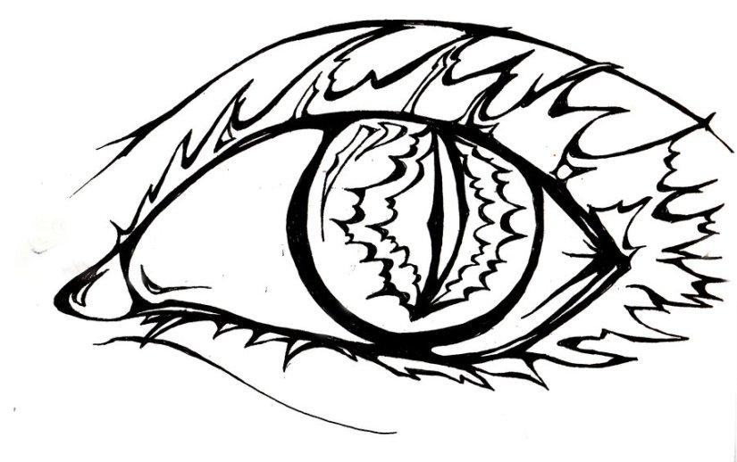 Popular Eye Tattoo Style For Girls
