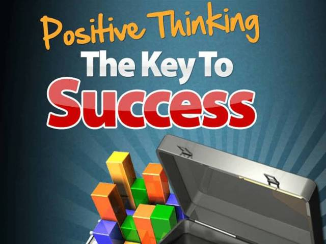 Positive Sayings Positive thinking the key to success