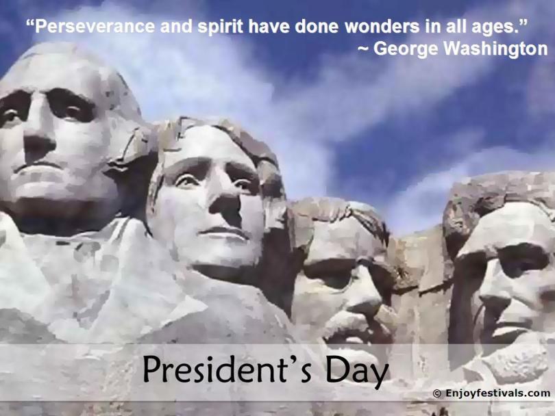 President Day Washington Birthday Wishes Image