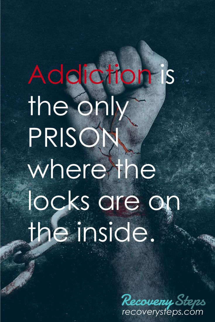 Addiction Quotes Recovery Quotes Addiction Is The Only Prison Where The Locks Are