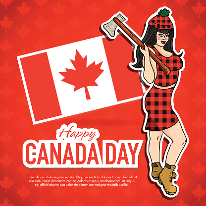 Sending You Happy Canada Day Image