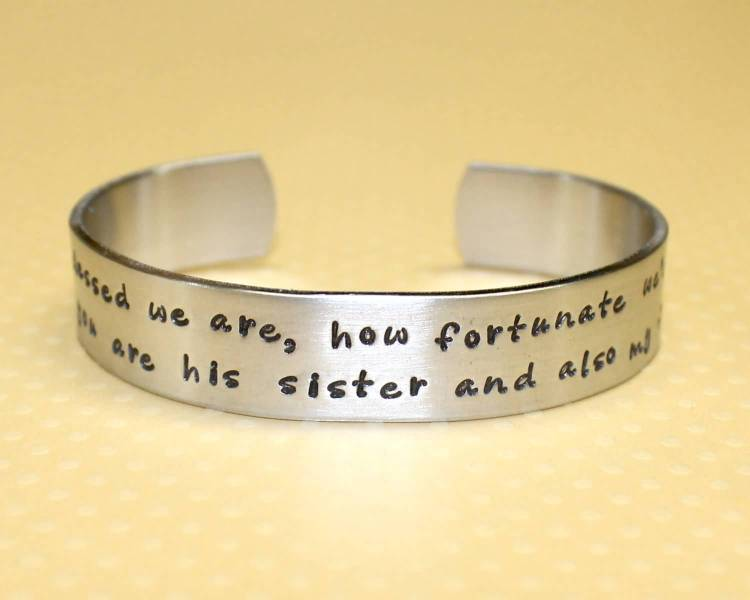 Sister In Law Quotes We are how fortunate are his sister and also