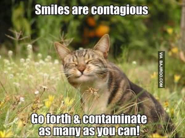 Smile Are Contagious Go Forth Contaminate As Many As You Cam