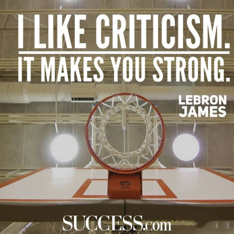 Strength Quotes I Like Criticism It Makes You Strong