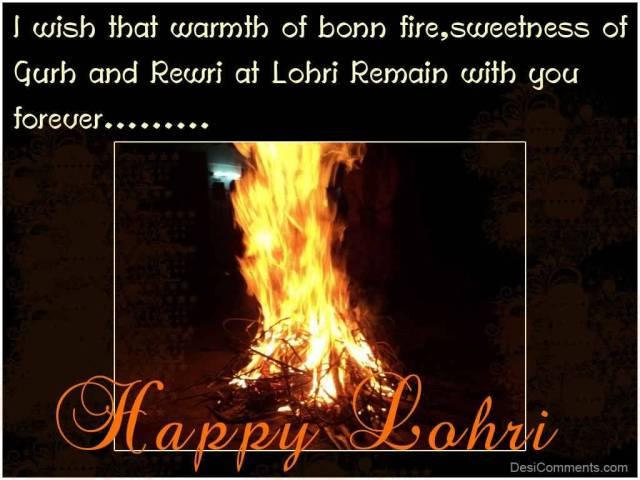 Sweetness Of Gurh Rewri Happy Lohri Greetings Image
