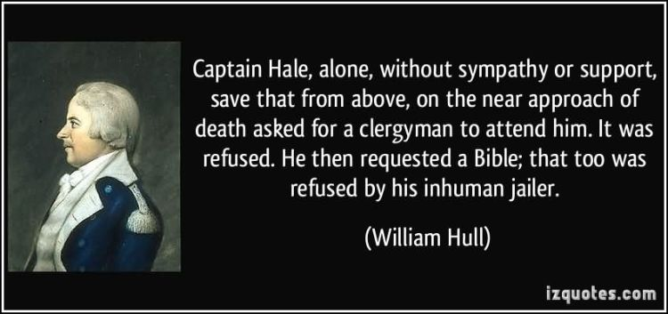 Sympathy Quotes captain hale, alone, without sympathy or support.