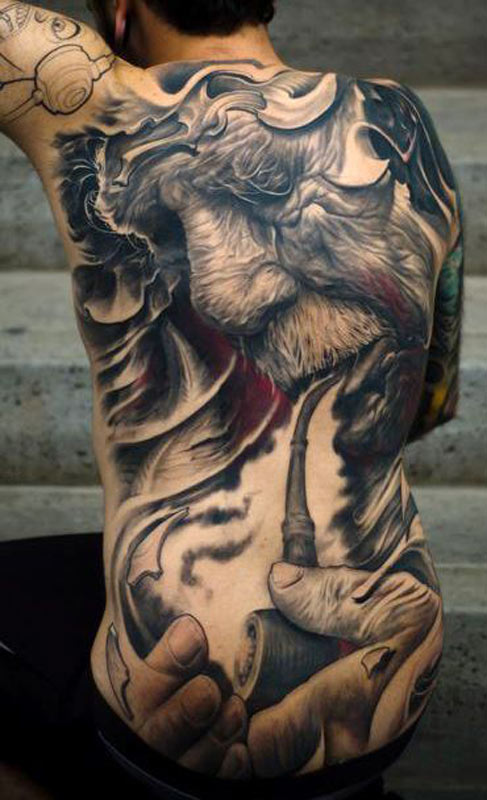 Terrific Extreme Tattoo Addiction For Boys