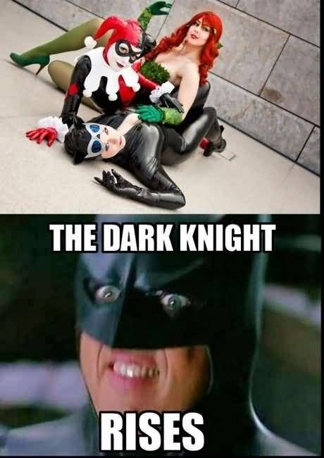 The Dark Night Rises Harley Quinn Memes