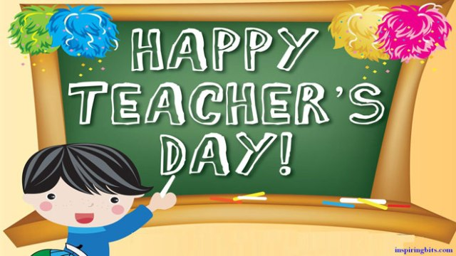 To Best Ma'am Happy Teacher's Day
