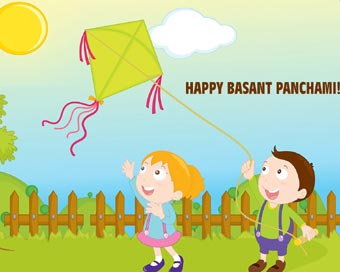 To You Happy Basant Panchami Children Kites