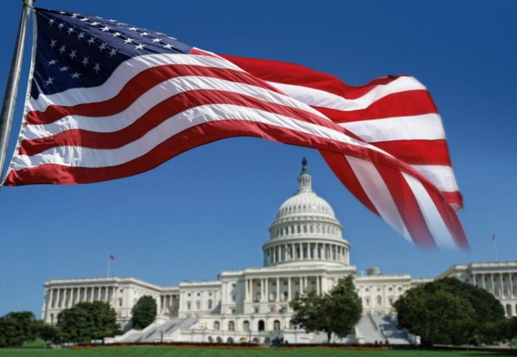 USA Flag Inauguration Day Wishes 45th President