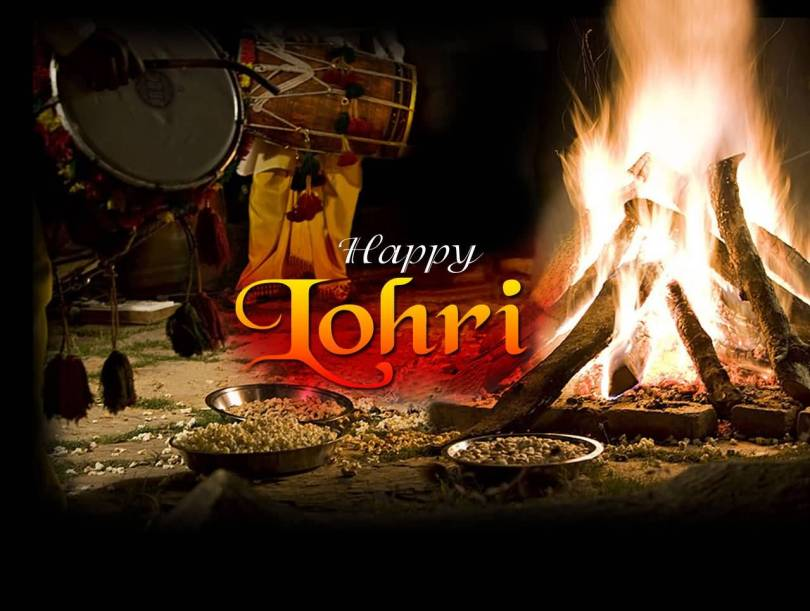 Warm Festival Wishes Happy Lohri Image