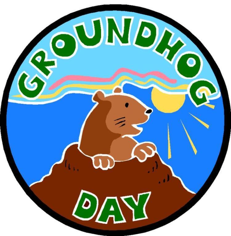 Wishing You Happy Groundhog Day