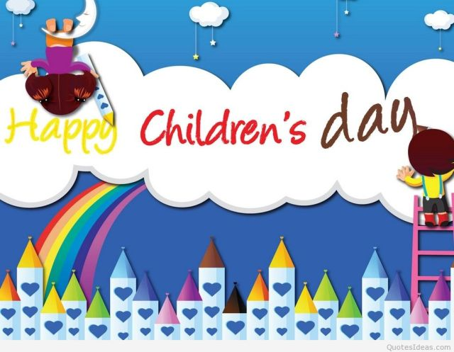 Wonderful Happy Children's Day Card
