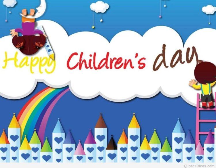 Wonderful Happy Children's Day Card