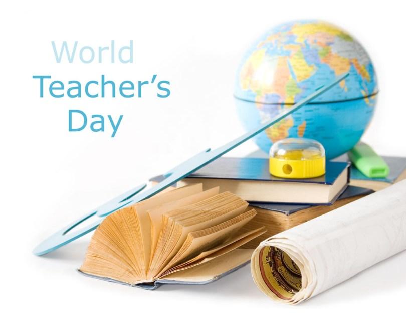 World Teacher's Day Enjoy Wishes Image