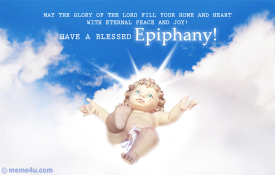 Have A Blessed Happy Epiphany Wishes Image