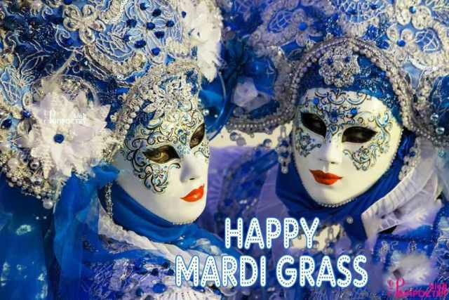 1 Mardi Gras Mask Image