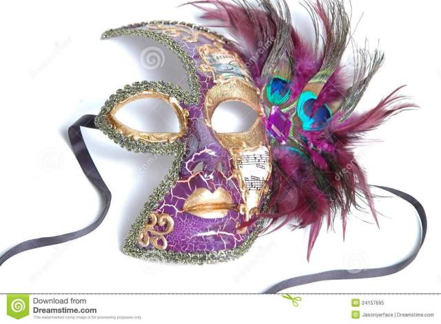 13 Mardi Gras Mask Image