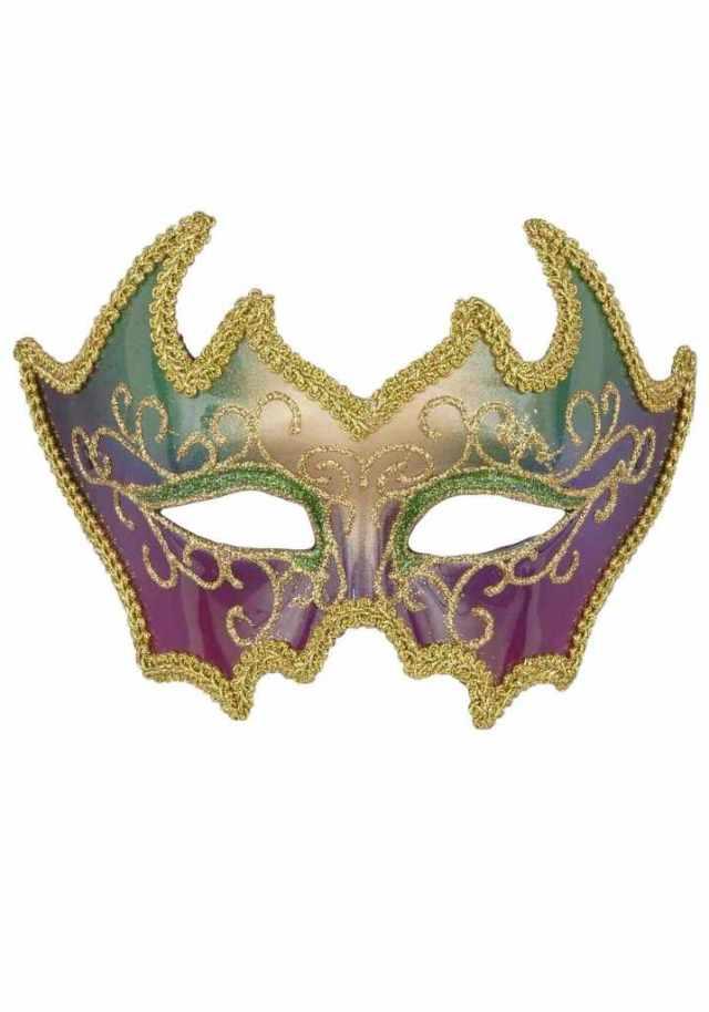 2 Mardi Gras Mask Image