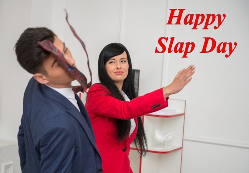 23 Happy Slap Day