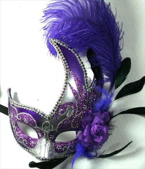 42 Mardi Gras Mask Image