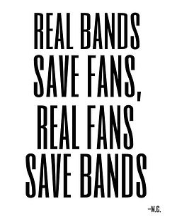 5Sos Quotes real bands save fans real fans save bands