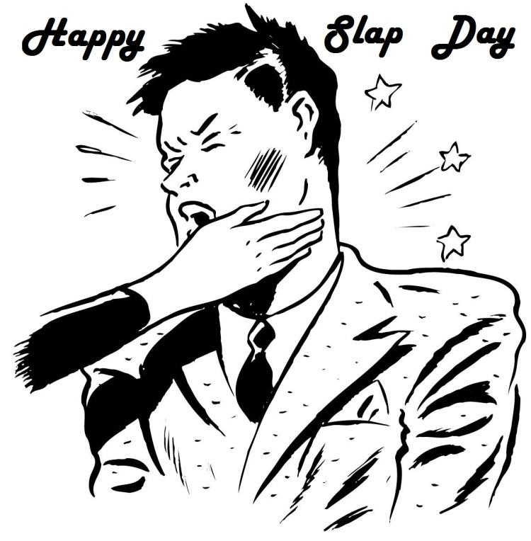 7 Happy Slap Day