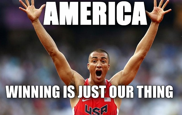 America winning is just our thing Olympics Meme