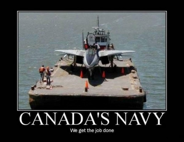 Army Memes canada's nave we get the job done