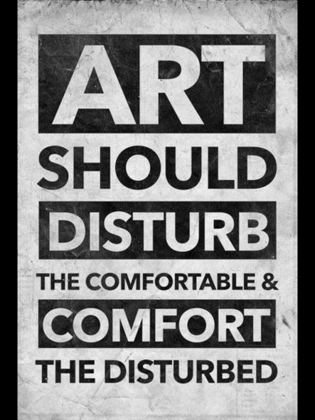 Art quotes art should disturb the comfortable