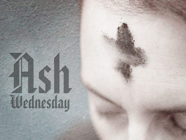Ash Wednesday Ash On Head