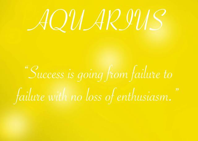 Astrology Sayings success is going from failure to failure with no loss of enthusiasm