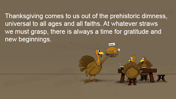 Astrology Sayings thanks giving comes to us out of the prehistoric