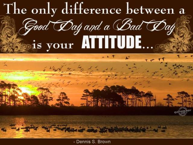 Astrology Sayings the only difference between a good day