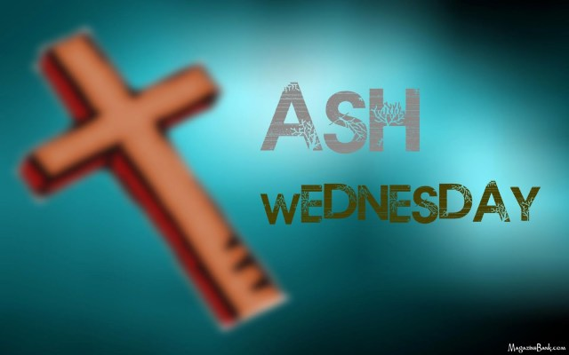 Beautiful Ash Wednesday