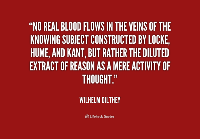 Blood Gang Quotes no real blood flows in the veins of the knowing subject constructed by locke hume