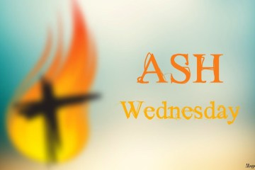 Blur Best Wishes Ash Wednesday Wallpaper