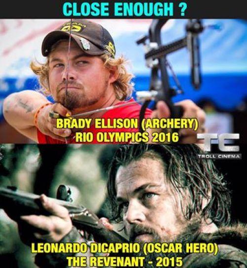 Brady ellison rio olympics 2016 Olympics Meme