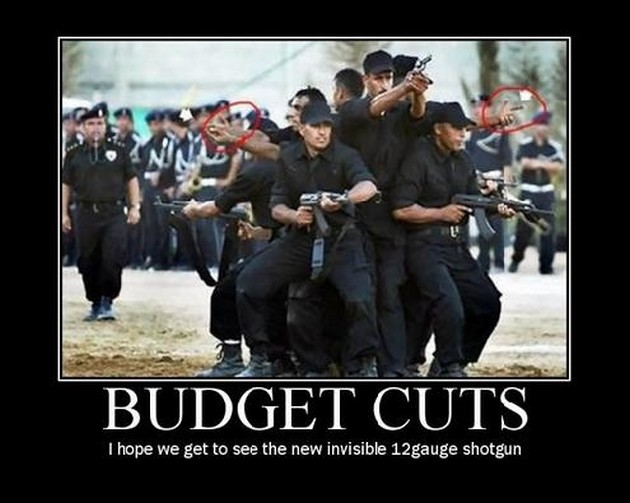 Budget cuts i hope we get to see the new Funny Army Image