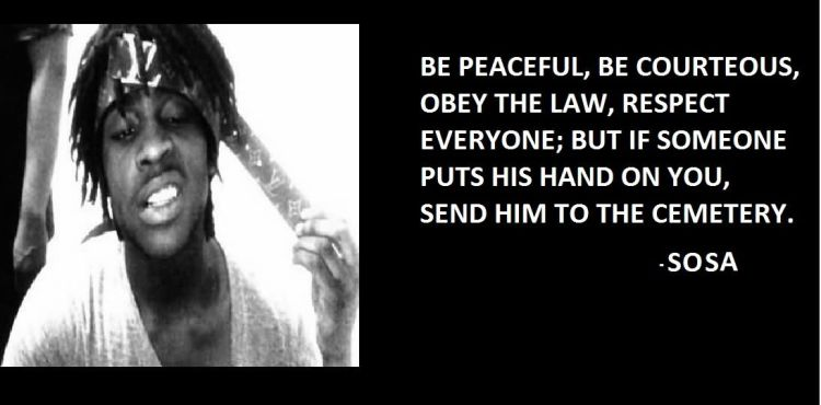 Chief Keef Quotes be peaceful be courteous obey the law respect