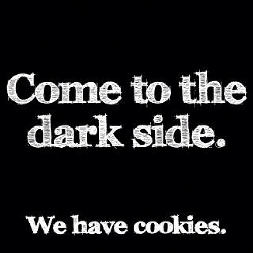 Come to the dark side Cookie Meme
