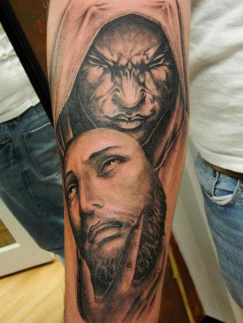 Coolest Hell Tattoo On Arm 3d Tattoo