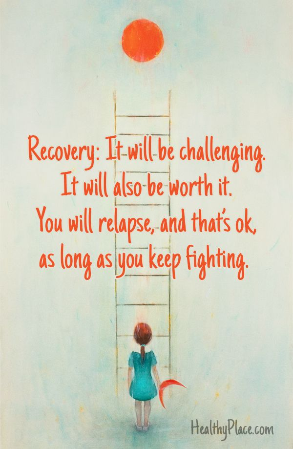 Depression Recovery Quotes recovery it will be challenging