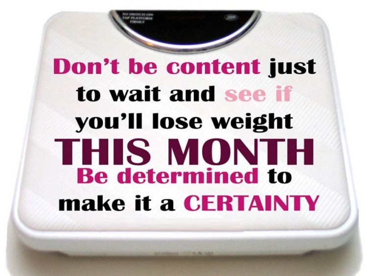 Determination sayings don't be content just to wait and see if